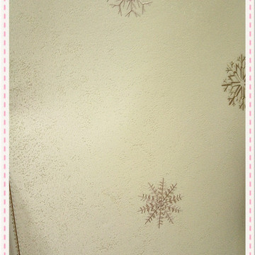 高档墙布 壁布 刺绣欧式田园风格防水层无缝绣花墙布
