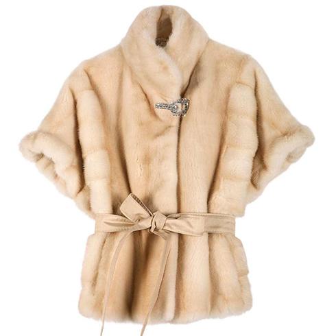 短款毛绒外套