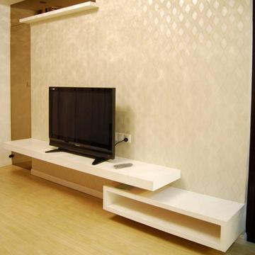 特价简约电视柜组合隔板一字造型隔板机顶盒架子挂壁搁板可定做
