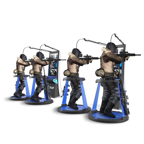 玩美视界VR主题游乐馆射击模拟