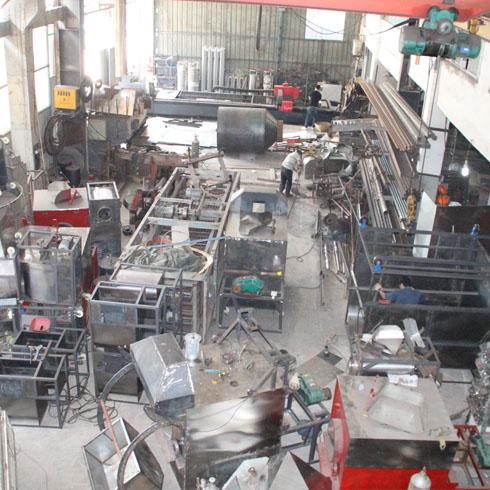 机械生产间