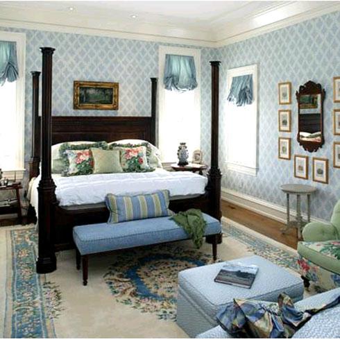 法欧庄园纳米集成墙饰卧室效果