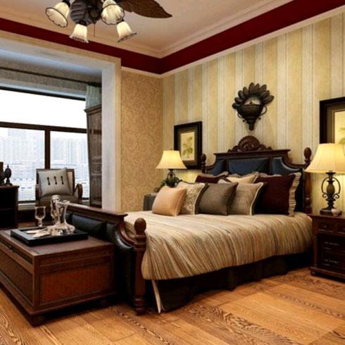 法欧庄园纳米集成墙饰卧室样式