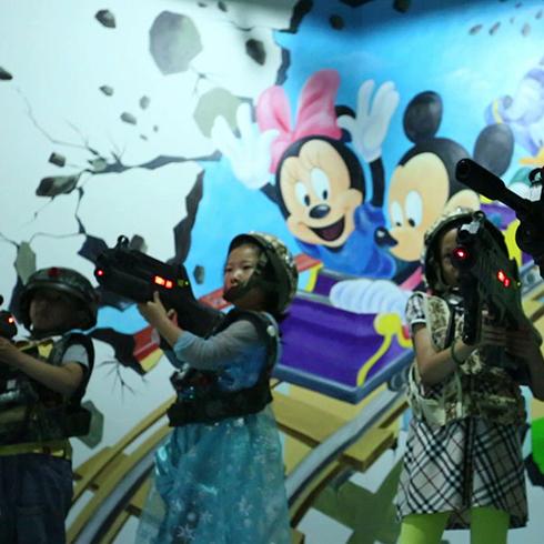 开心玩国儿童乐园儿童3D射击馆