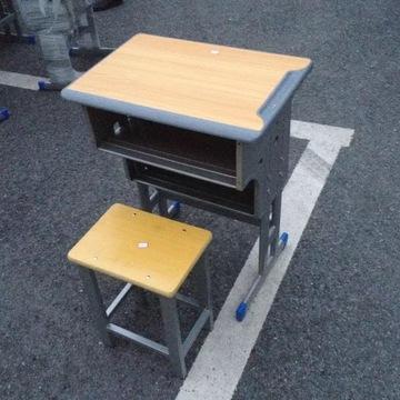 学生课桌椅单人教学桌椅学习桌儿童书桌培训班儿童桌椅厂家直销