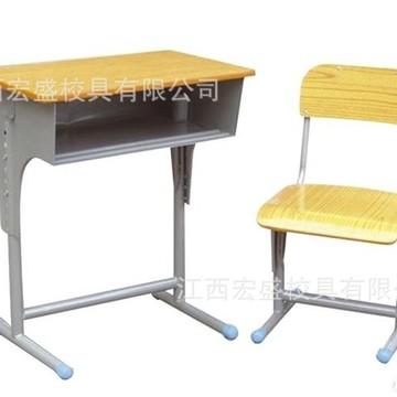 大量批发定做 学校 学生课桌椅单人豪华可升降 课桌椅
