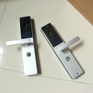 双面指纹密码锁批发 开运歆品牌智能门锁 办公电子门锁 防盗门锁