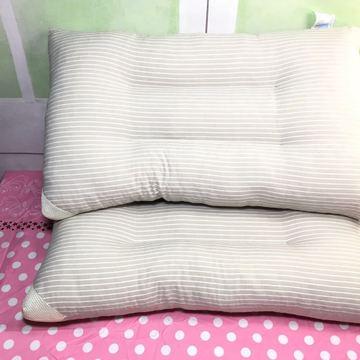水洗棉学生成人系列单人保健定型枕芯梦舒家纺批发