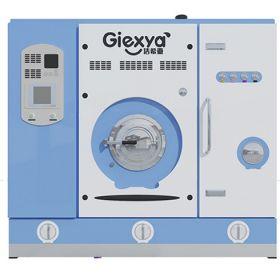 洁希亚国际洗衣-蒸馏精洗机正面
