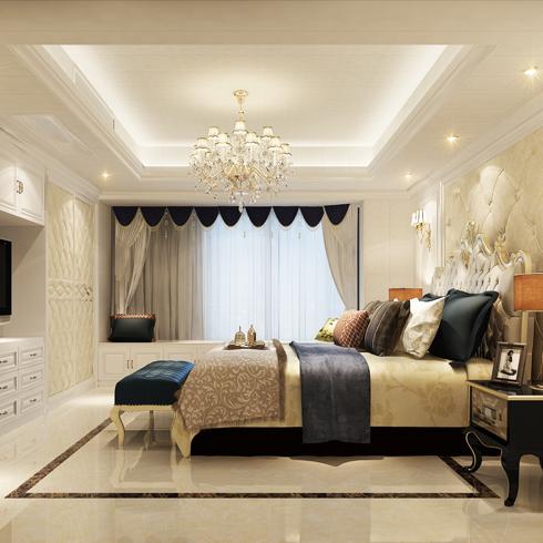亿安居集成墙板-卧室效果