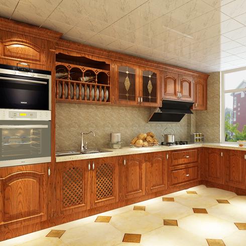 亿安居集成墙板-厨房效果