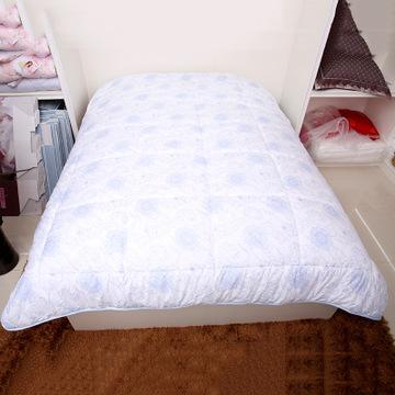 被芯 大床专用被供应羽丝绒被芯 家纺用品批发二合一双胎棉被芯
