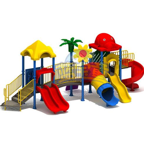 蓝宝童组合滑梯