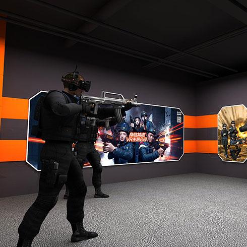 身临其境VR主题公园-游戏场景