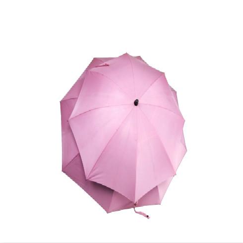 粉色子母伞1