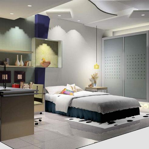 美屋定制墙上新装系统-卧室效果