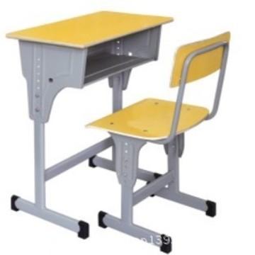 博杰课桌椅批发培训班学习桌可升降学校课桌学生课桌椅厂家直销