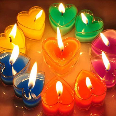 变色鸟创意蜡烛