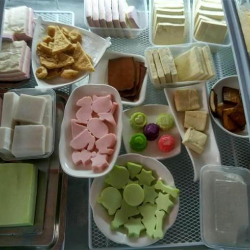 豆乡万家豆腐机-豆腐成品