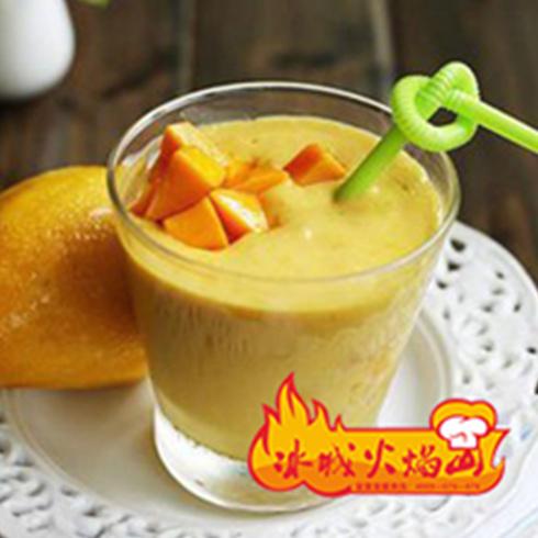 金桔柠檬酸奶