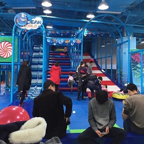 蓝宝童儿童乐园实景2