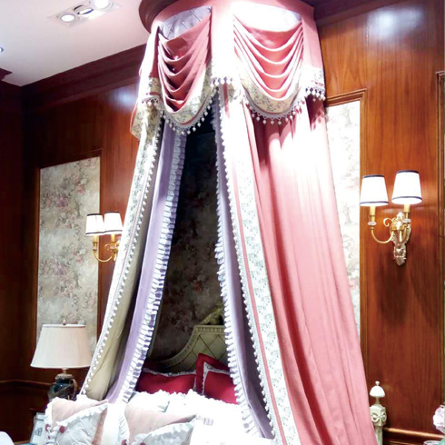 梦莱幔窗帘-公主系列