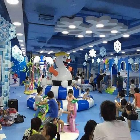 蓝宝童儿童乐园实景