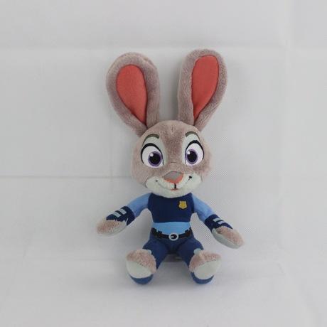 疯狂动物城毛绒玩具公仔卡通朱迪兔尼克狐生日礼物