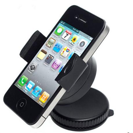 汽车导航手机支架座 适用各种型号手机 车用多功能车载手机支架-十全高清图片