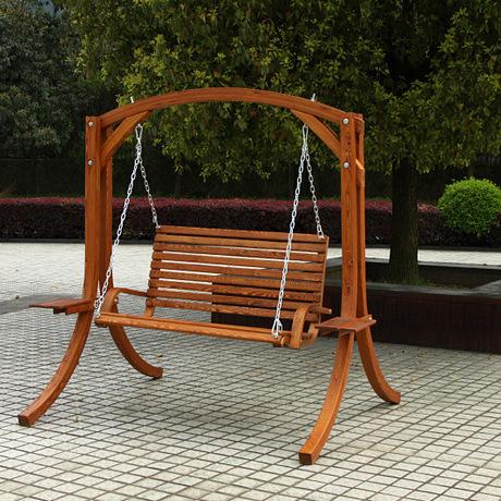 户外秋千椅 实木吊椅 防腐吊椅 厂家直销进口实木