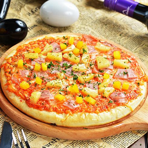 乐士多夏威夷水果披萨