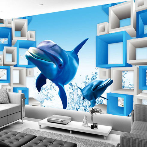 电视背景墙制作过程