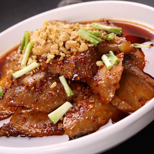 围啃椒麻鸡-美食