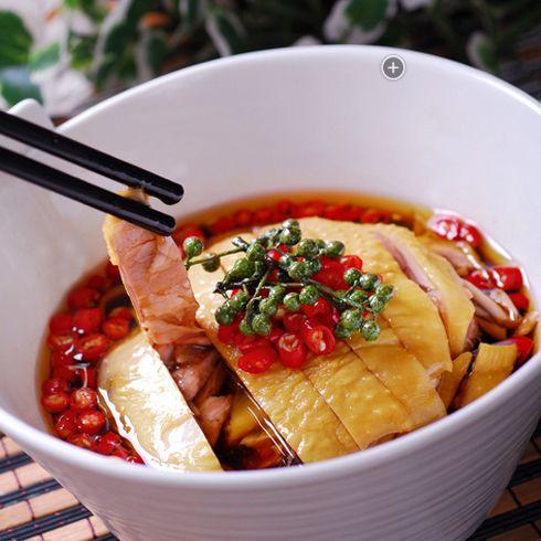 围啃椒麻鸡-美味一绝