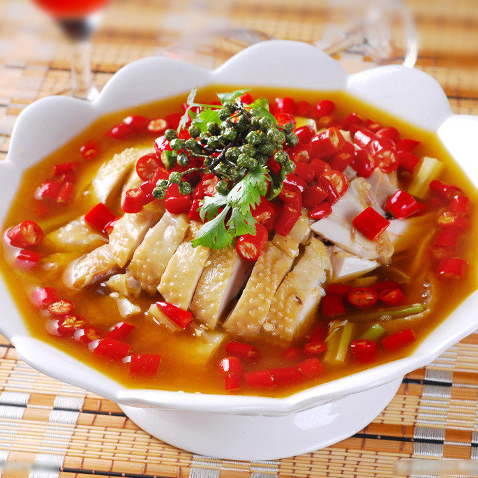围啃椒麻鸡-美味产品