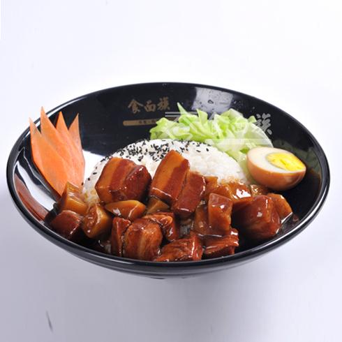 食面族面馆快餐-红烧肉饭