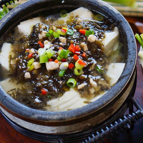 福锅满堂石锅主题餐厅-石锅美味豆腐