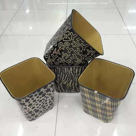 正方形垃圾桶房间客厅卫生间必备佳品大号塑料纸桶