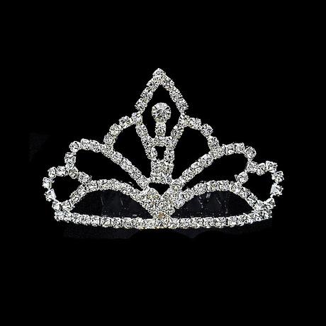 儿童皇冠发箍公主头饰小女孩发饰闪亮水钻皇冠厂家直销