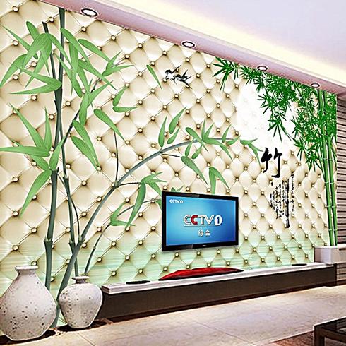 皮革电视背景墙