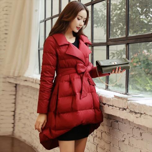 yosum-红色羽绒服