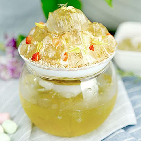 雪芙蓉冰淇淋-淡雅雏菊雪花冰