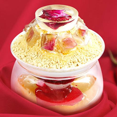 雪芙蓉冰淇淋-浓情玫瑰雪花冰