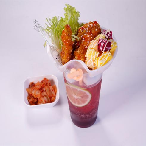 幸福起点雪冰-韩式泡菜桂花烤翅