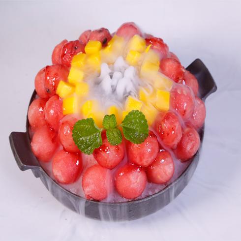 幸福起点雪冰-西瓜刨冰火锅