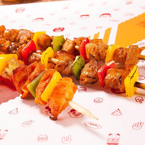 华客多汉堡-烤肉