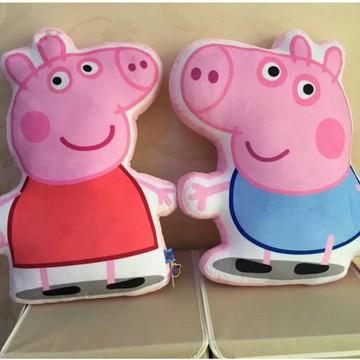 小猪佩奇大号儿童毛绒玩具佩佩猪乔治猪爸爸猪妈妈抱枕系列玩具