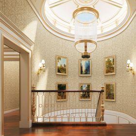 神奇金属装饰画-楼梯墙效果