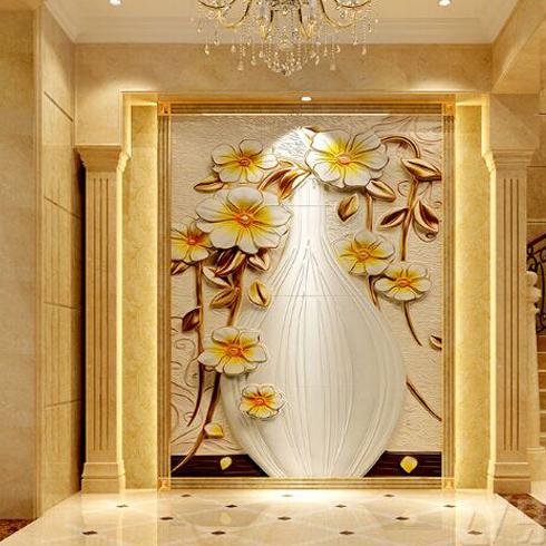 神奇金属装饰画-大型背景墙