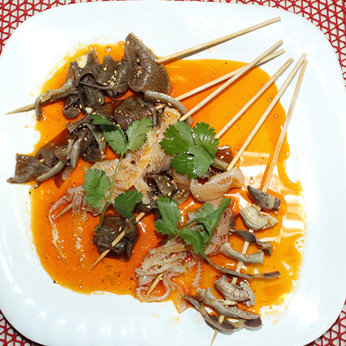 围啃椒麻鸡-凉锅串串